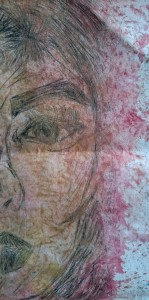 Intaglio printed face