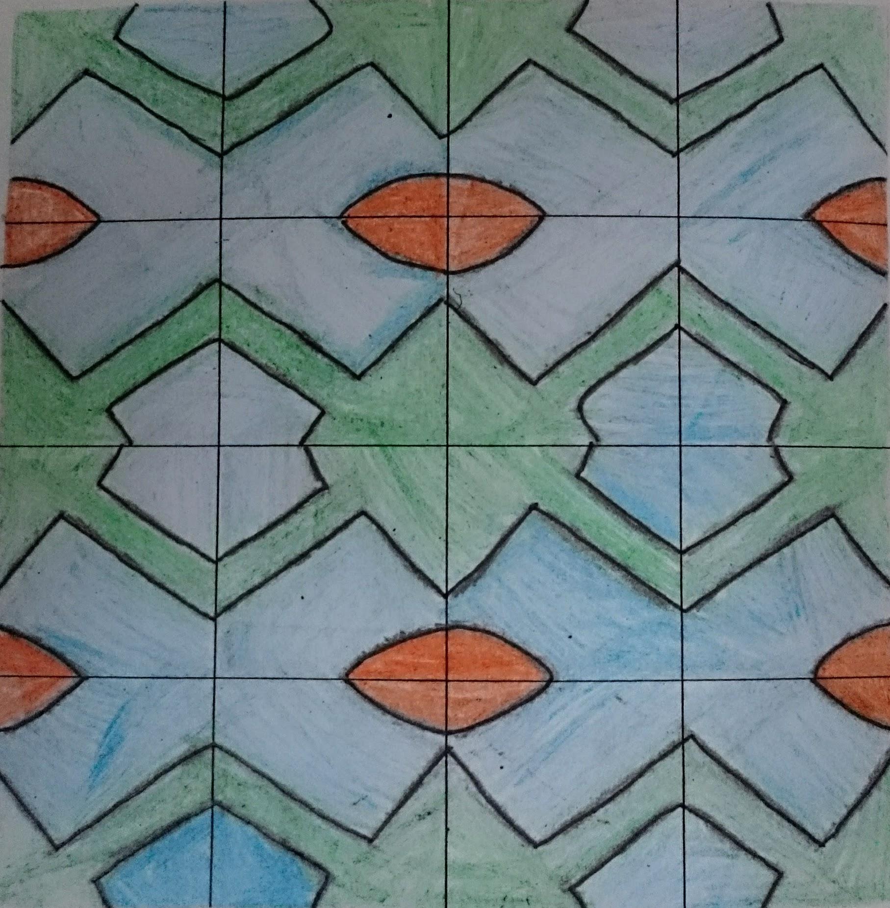 Pattern design scheme of work