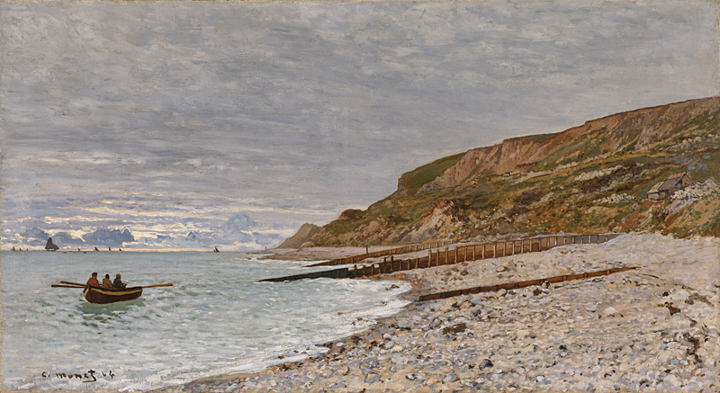 Landscape artist Claude Monet La Pointe de la Hève