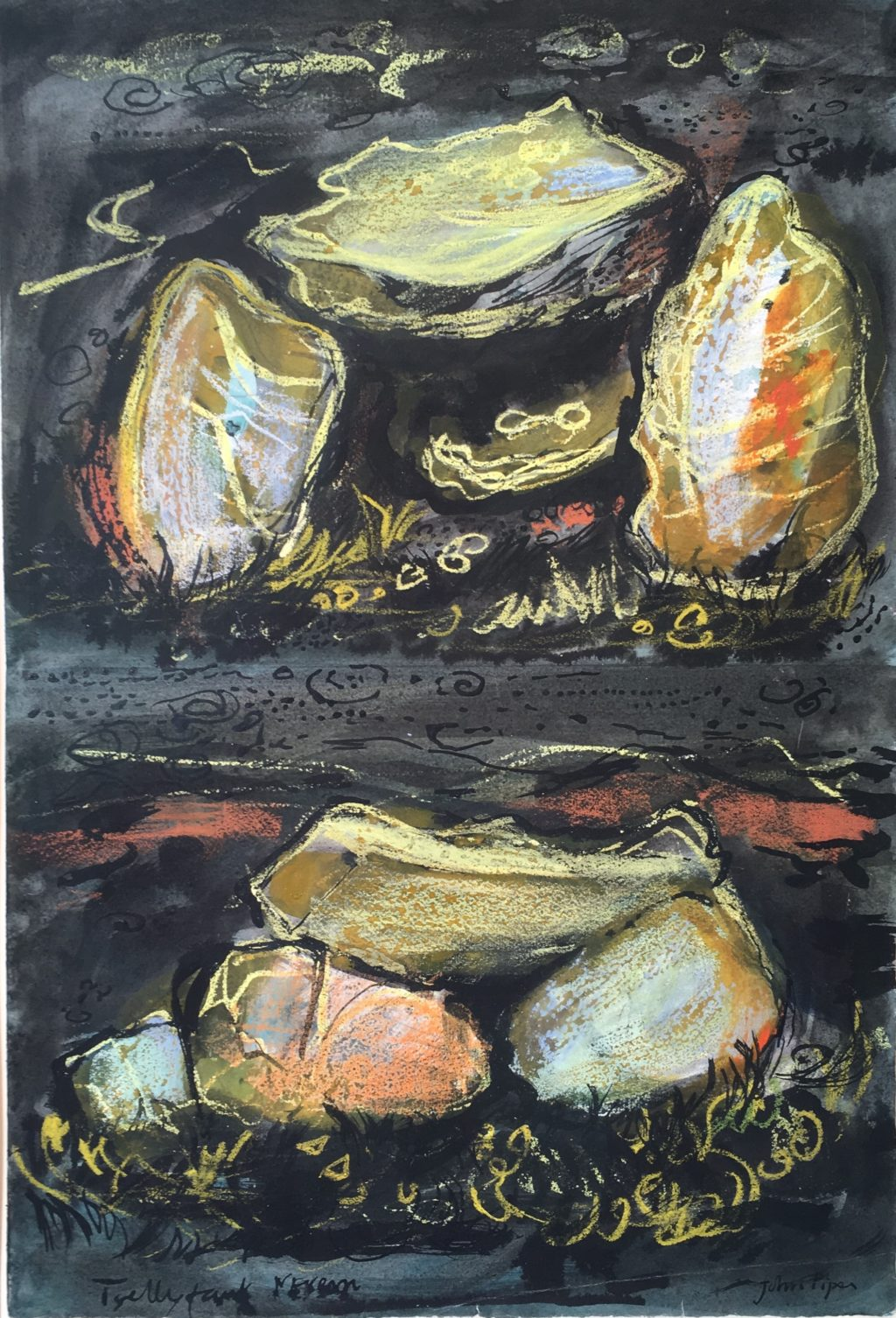 John Piper landscape artist information lesson