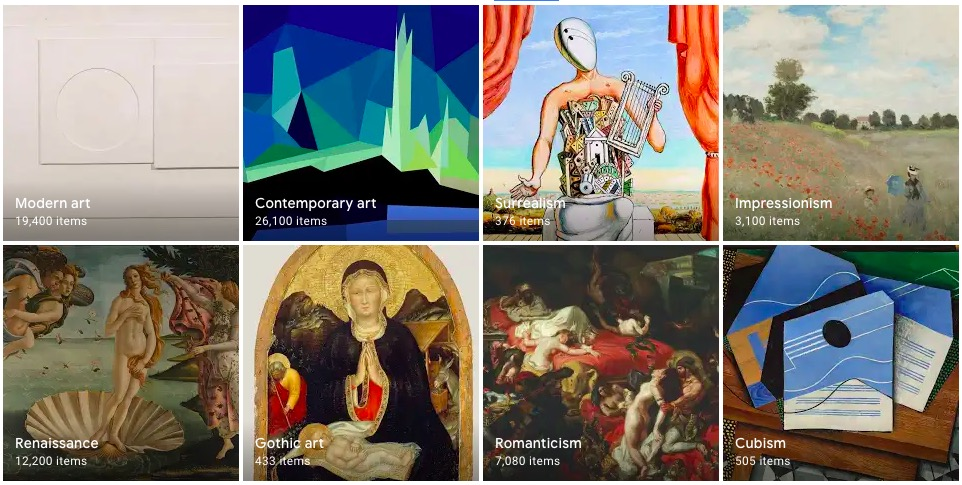 good websites for art teachers useful resources google arts and culture