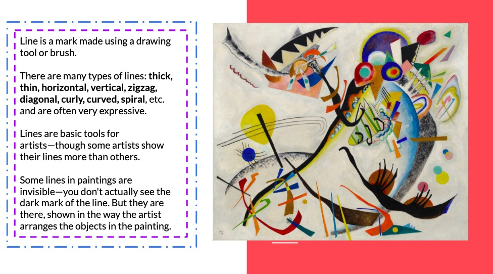 KS3 colour theory art project