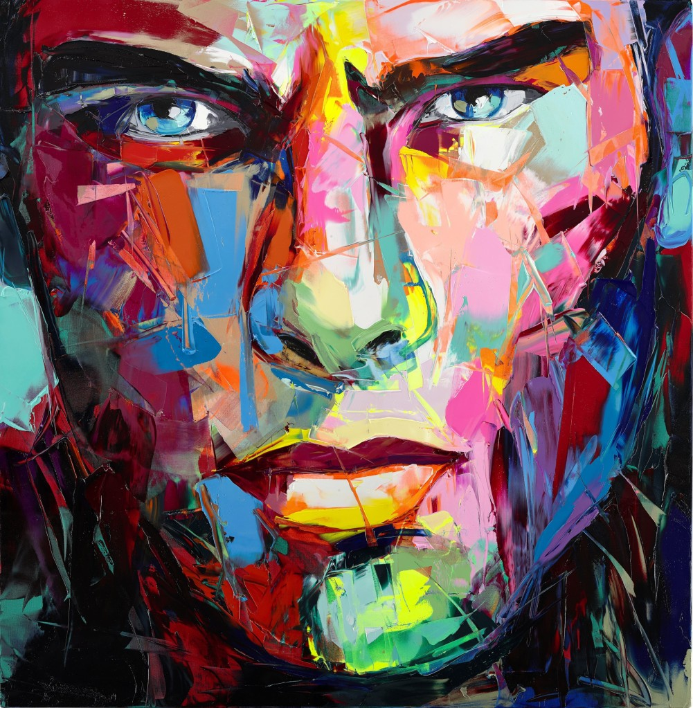 Artist research Francoise Nielly Untitled painting 938