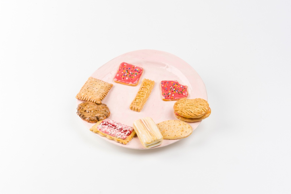 Mechelle Bounpraseuth assorted biscuits artwork clay