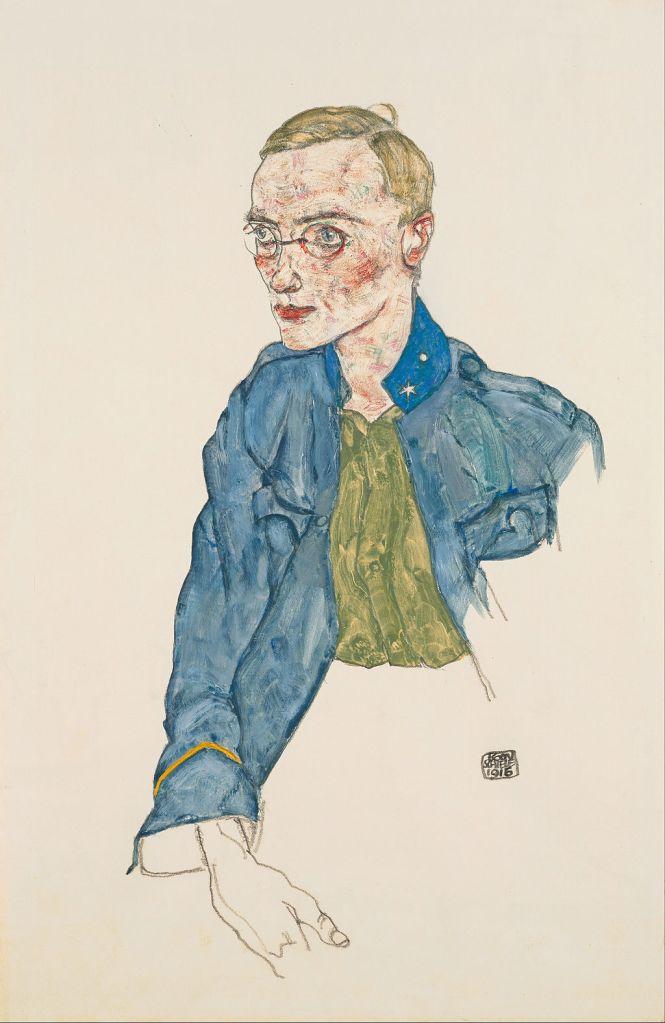Egon Schiele information - One-Year Volunteer Lance-Corporal, 1916