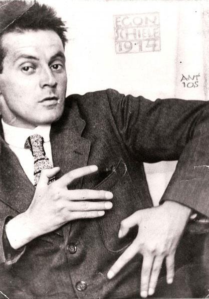 Egon Schiele Portrait Photograph