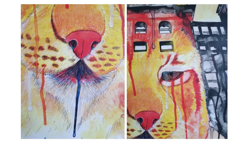 GCSE Art Grade 9 examples