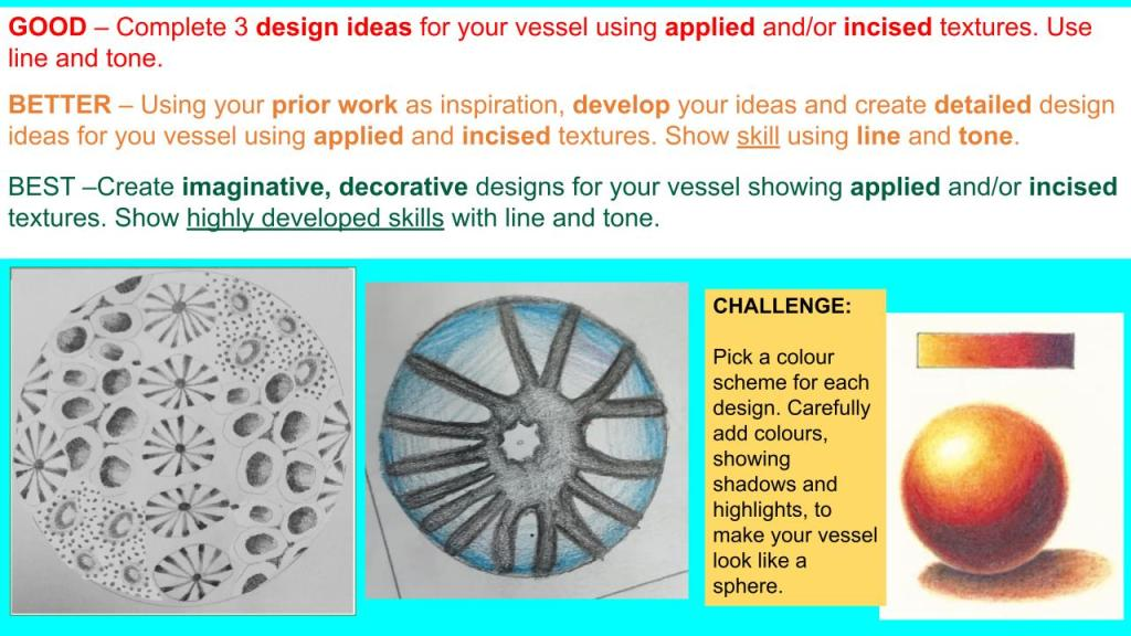 KS3 clay scheme of learning lesson aims