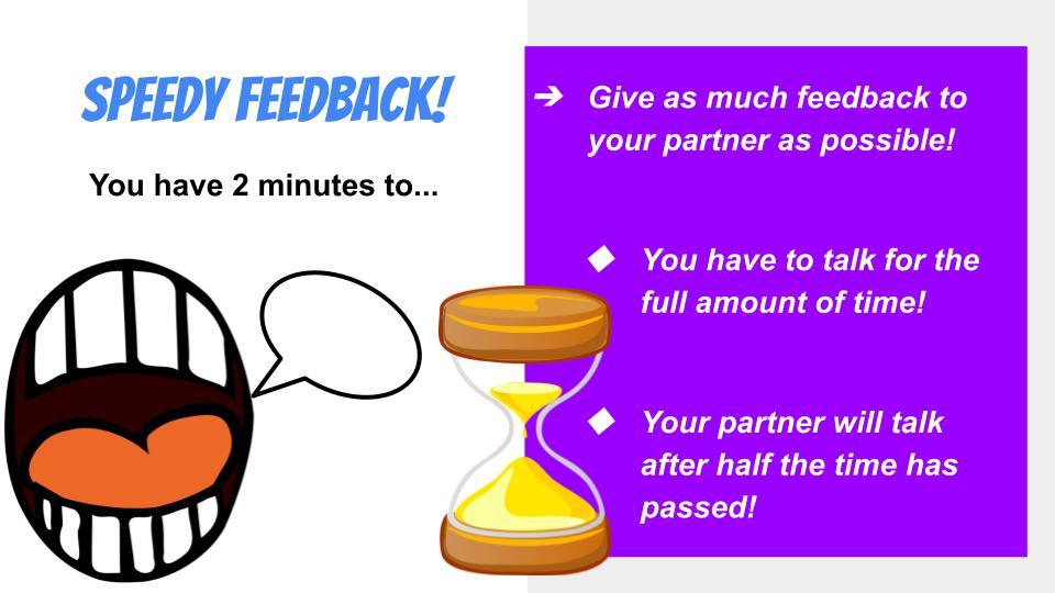 fun Art assessment ideas - speedy feedback
