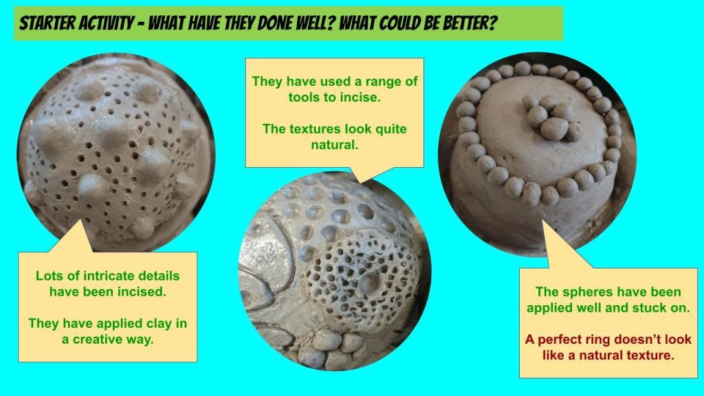 School ceramic lesson ideas