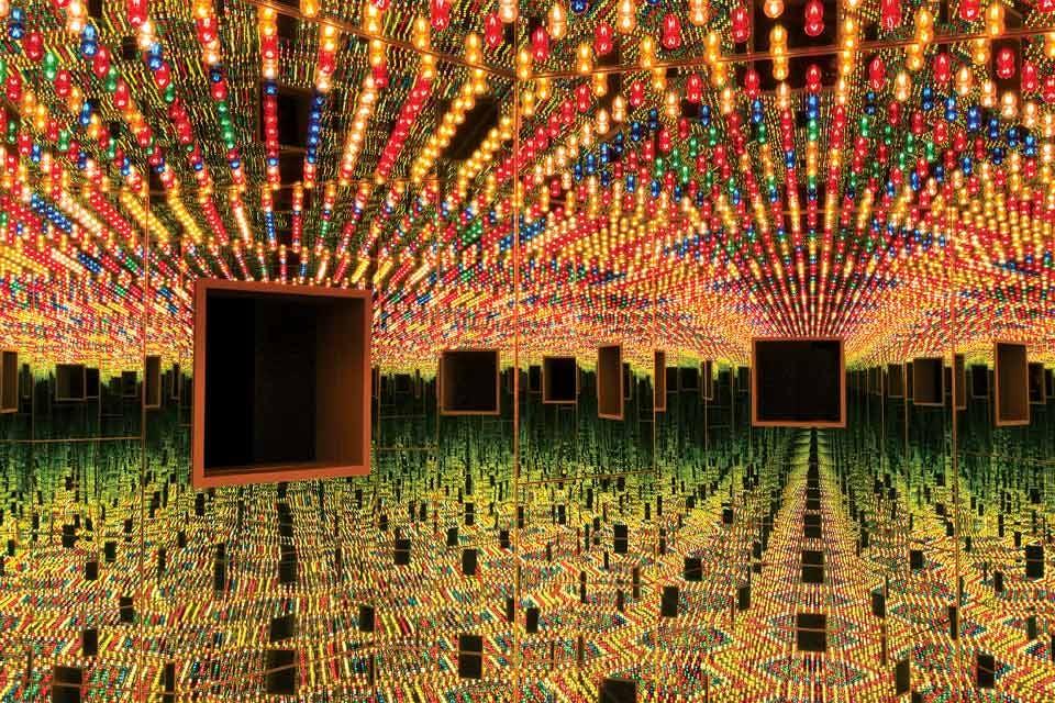 Infinity Mirrored Room—Love Forever, 1966/1994 Yayoi Kusama