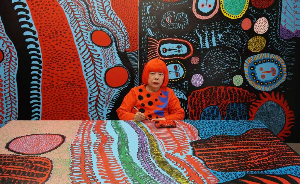 Yayoi Kusama artist profile